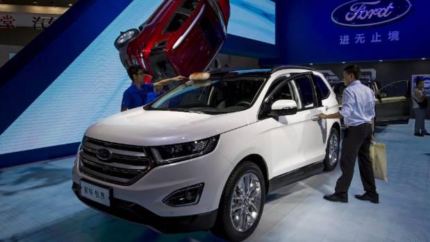 The Edge Sorry Endura On Display At This Years China Motor Show At