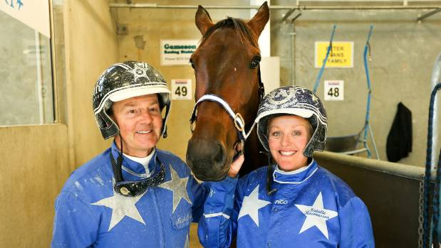 Mark Purdon and Natalie Rasmussen will start four runners in the New Zealand Trotting Cup.