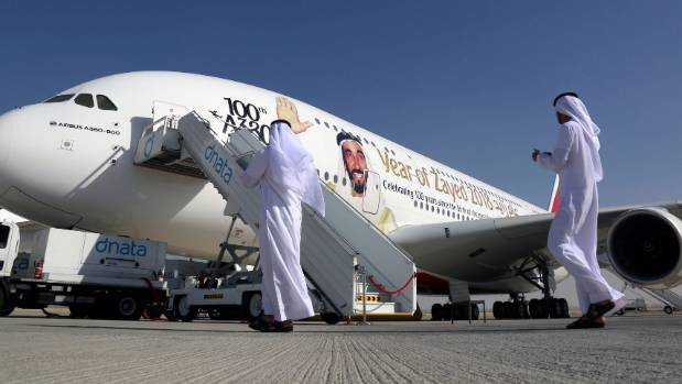 Dubai Airshow has been flagged off by Emirates with massive Dh55b order