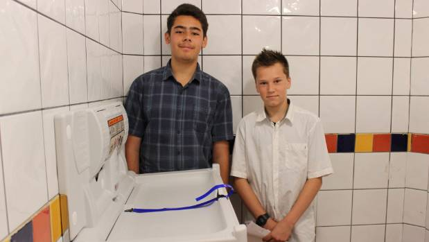 Naaman Boxer and Max Stovell have successfully organised for the installation of changing tables at the council's public ...