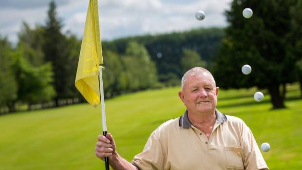 Bryan Welsh, 82, scored his fifth hole-in-one at the Pleasant Point golf course, driving the No.2 hole.