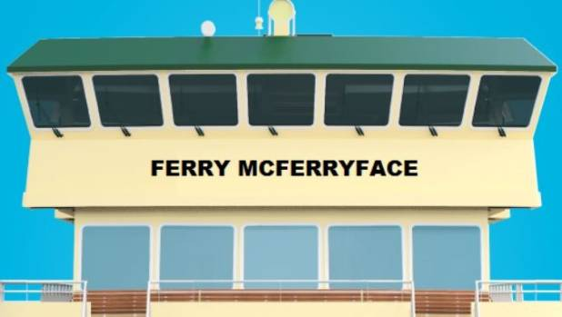 Ferry McFerryface wins Sydney harbour vote