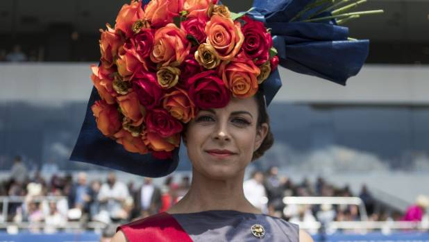 Christchurch Cup Day fashion competition won with recycled material