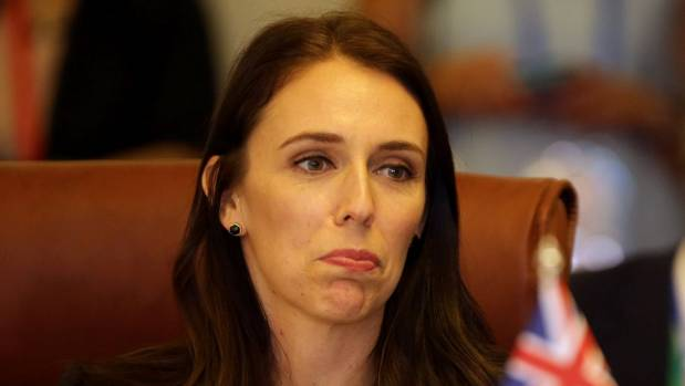 New Zealand premier finds her barong scratchy