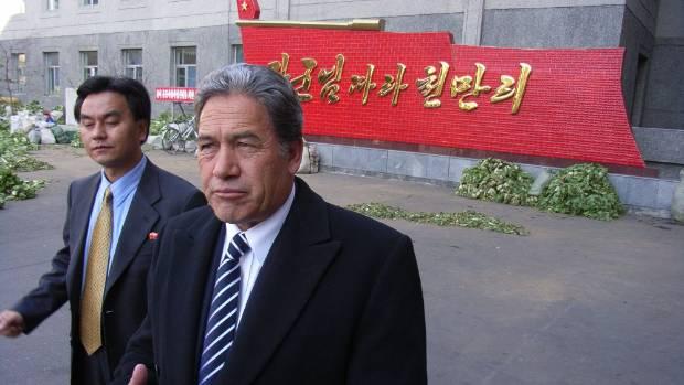 winston peters asked for government cash to send kapa haka group to north korea