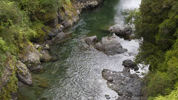The Ruamahanga River emerges from the Tararuas at Mt Bruce. Most wouldn't get this view, as the bridge has a 100kmh ...