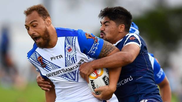 Valentine Holmes bags record FIVE tries in Australia rout of Samoa