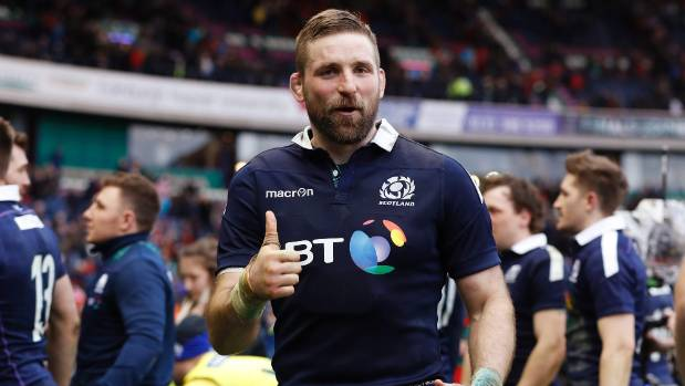 Don't be in awe of All Blacks, Barclay warns Scots