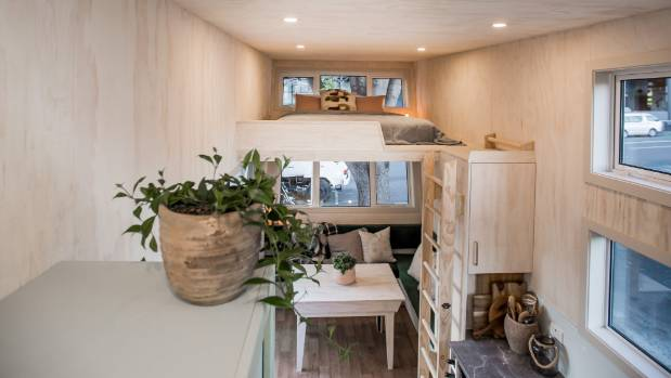 how much are tiny houses. The Walls And Ceiling Are Lined With Plywood, Which Also Forms Cabinetry. How Much Tiny Houses