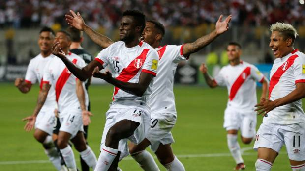 peru were pretty happy when they scored against the all whites in world cup qualifying
