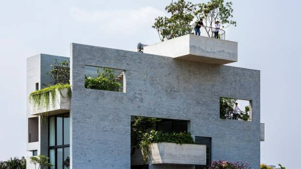The Binh House, Designed By Vo Trong Nghia Architects, Has Been Voted The  House