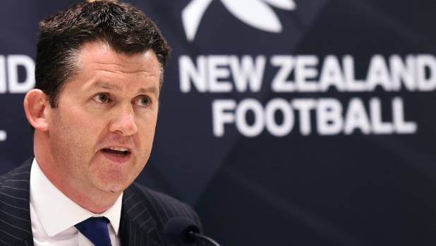New Zealand Football CEO Andy Martin said the air force jet fly-by was a step too far