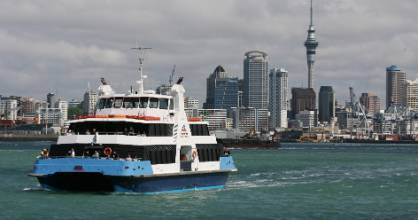 Fullers 360 ferry services from Auckland's ferry terminal to Matiatia Wharf on Waiheke Island are set to change from ...