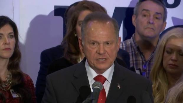Republican U.S. Senate candidate Roy Moore of Alabama called the sexual misconduct allegations'scurrilous and'false