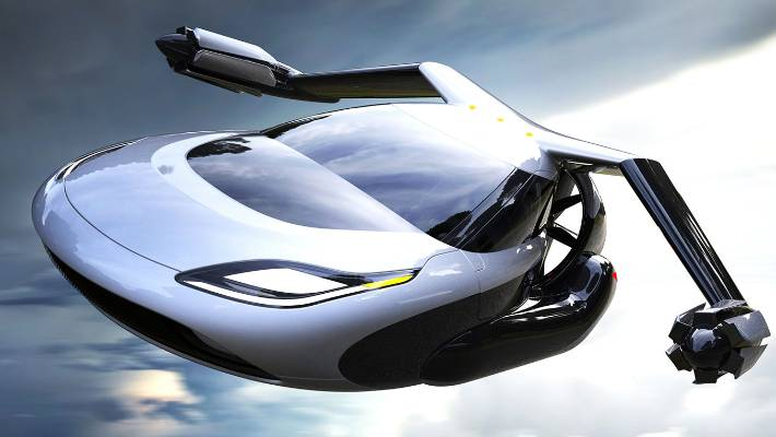 Terrafugia's flying car concept, the TF-X. China's Zhejiang Geely Holding Group has just bought US-based Terrafugia, which plans to start selling flying cars by 2019.