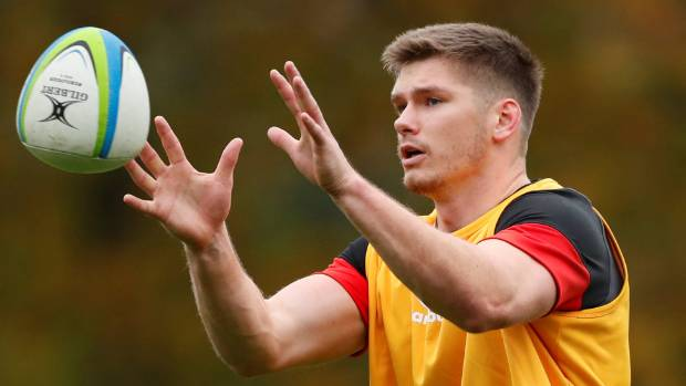 Farrell returns to central role for showdown with Wallabies