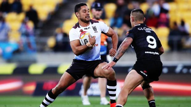 The experience of Jarryd Hayne was invaluable for Fiji in Wellington