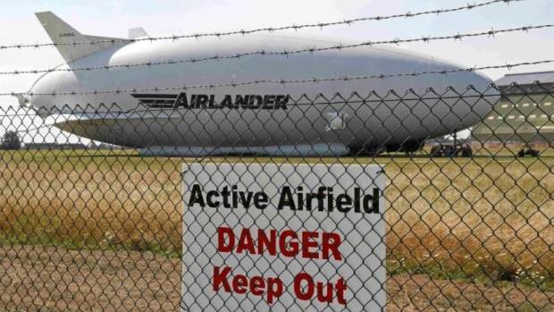 Woman injured after world's largest aircraft breaks free