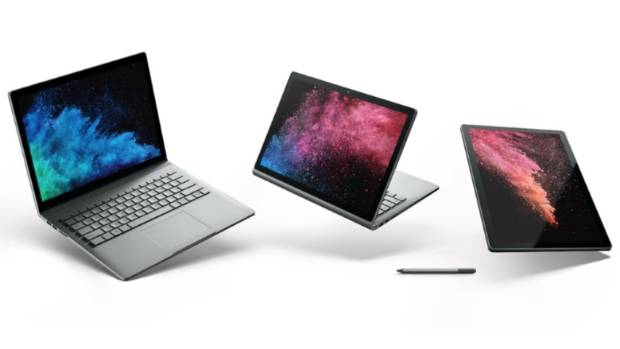Microsoft's Surface Book 2 will drain battery while plugged in when gaming