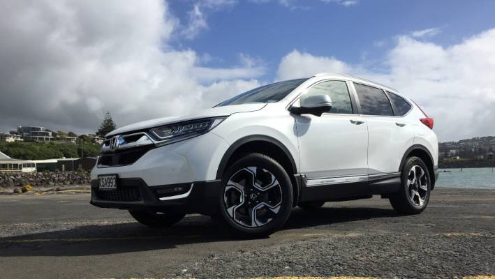 The new Honda CR-V that senses safety – or the lack of it
