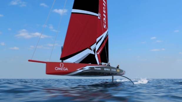 Next America's Cup boat concept released