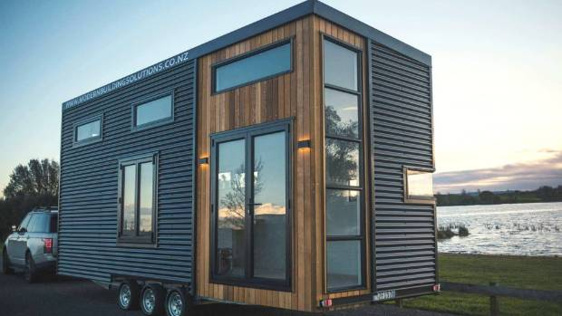 The Tiny House Is 25m Wide By 72 Metres Long And 42m High