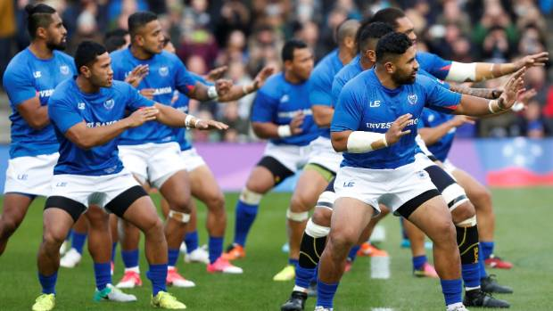 World Rugby Is Paying The Travel Costs And Insurance For Samoa Pictured Performing Siva