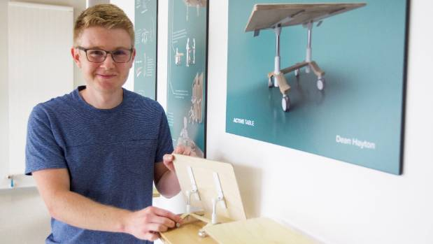 Student brings product design to the table