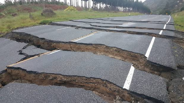 The aftermath of the big Kaikōura quake. The impacted area from a quake on the subduction zone would be much greater, GNS scientist Ursula Cochran said.