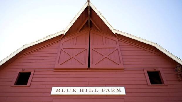 Blue Hill at Stone Barns is 45 minutes from Manhattan in the Hudson Valley of New York.