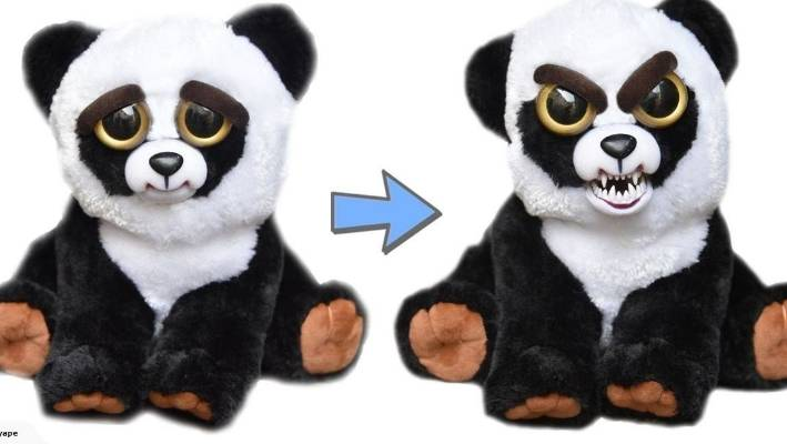 trade me spokeswoman millie silvester says these two faced soft toys turn from darling