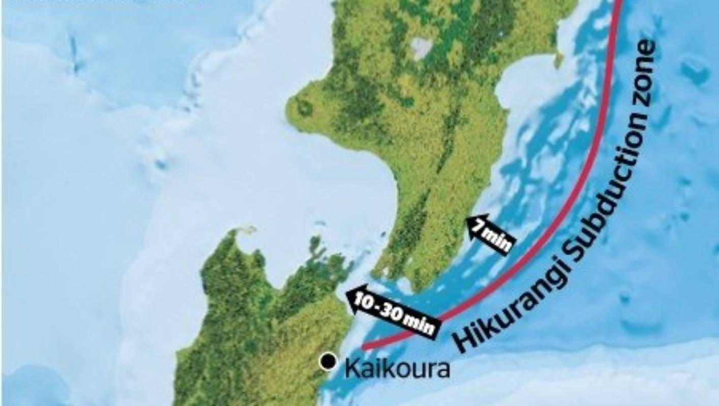 Picture of: Hikurangi Subduction Zone Part Of A Huge 3500km Long System Stuff Co Nz