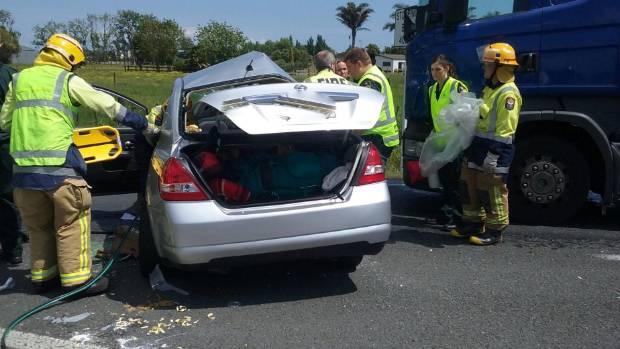German tourist charged over companion's death in Kopu crash | Stuff