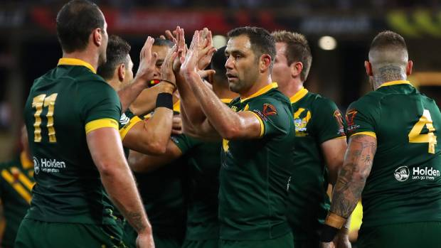 Holmes scores six as Australia thumps Fiji