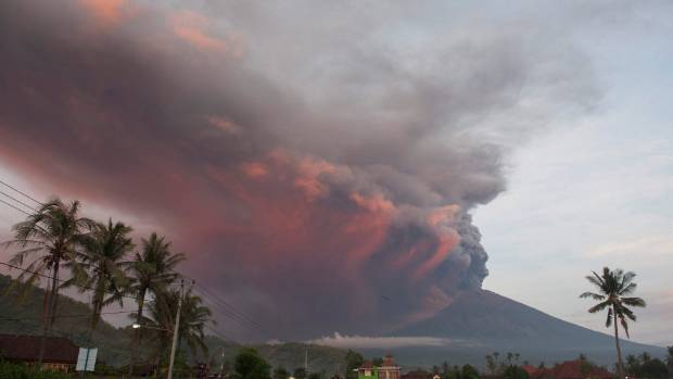 Bali Volcano Eruption Strands Travellers As Imminent Risk Of