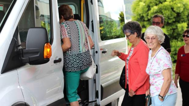 Residents from Richmond Villas were the first to climb aboard the new Thames Bus. (File photo).