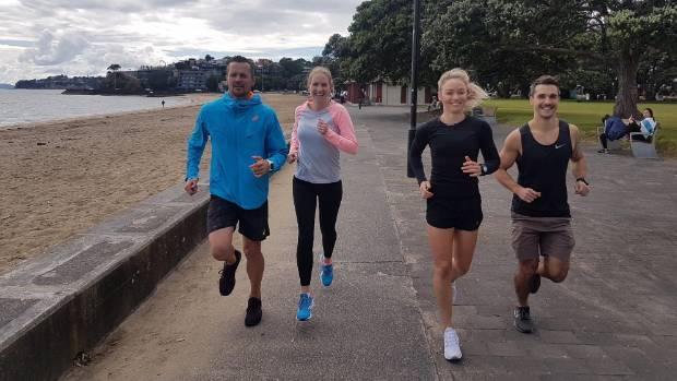 Top Athletes Clock Up Their Reward Points Scott McLaren Alison Shanks Anita