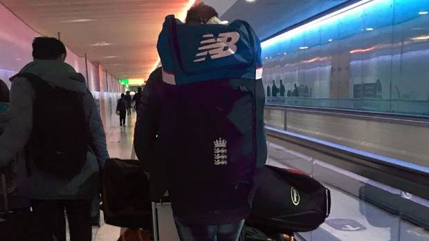 Ben Stokes was reportedly seen at Heathrow Airport with his cricket gear on Monday