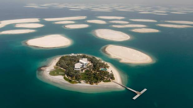 Dubai's World Islands. Off the coast of Dubai over 200 tiny man-made islands were to be one of the emirate's most