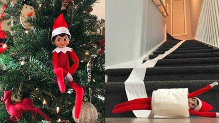 elves get up to a lot of mischief in the night - Christmas Elf Ideas