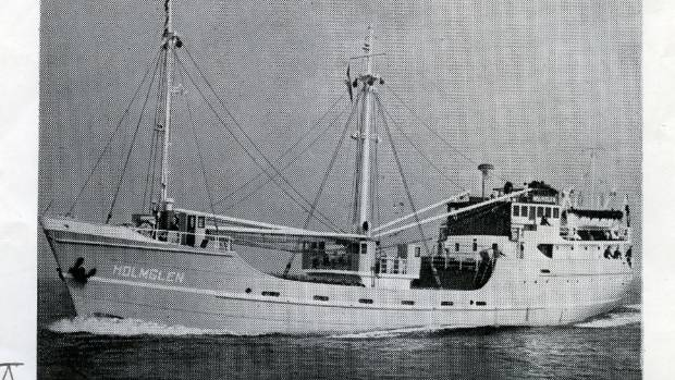 Another view of the Holmglen, taken in 1959.
