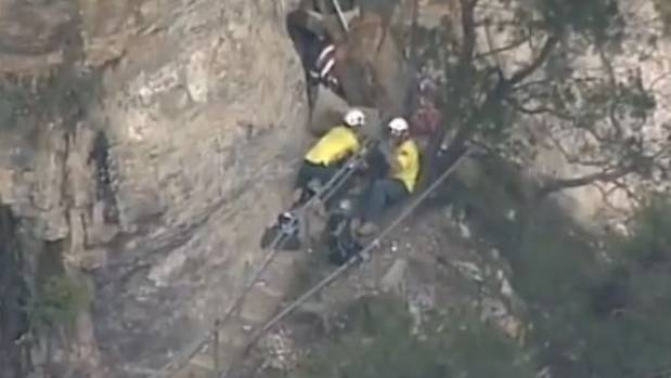 One dead after Blue Mountains rock slide
