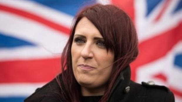 Leader of far-right group Britain First arrested in Belfast