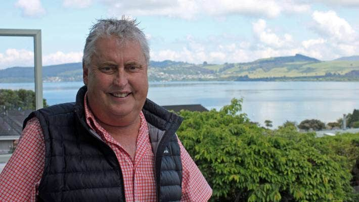 Taupo District Council Mayor David Trewavas