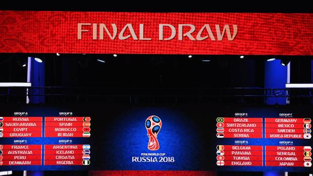 The draw was held on Saturday morning