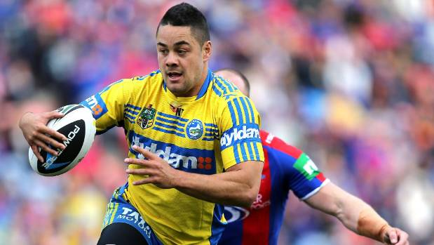 Jarryd Hayne back home as he faces questioning by the NRL