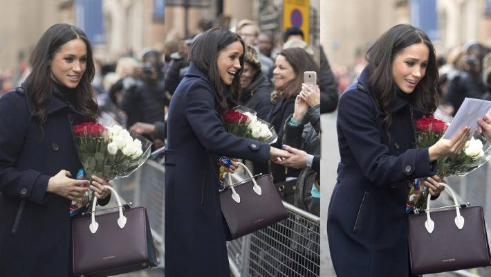 Meghan Markle chose a handbag by Scottish brand Strathberry for her first  official public commitment following ac2c6e674d