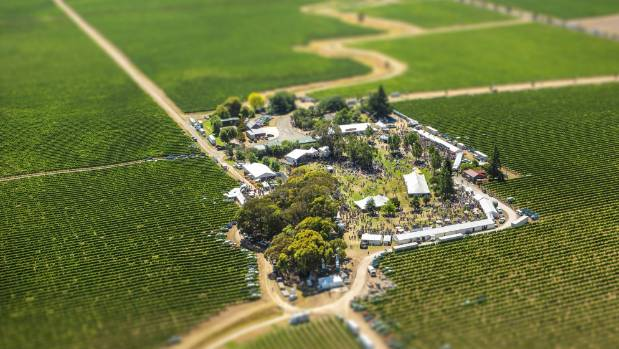 The Marlborough Wine and Food Festival, at Brancott Estate, attracts thousands of people to the region every year.