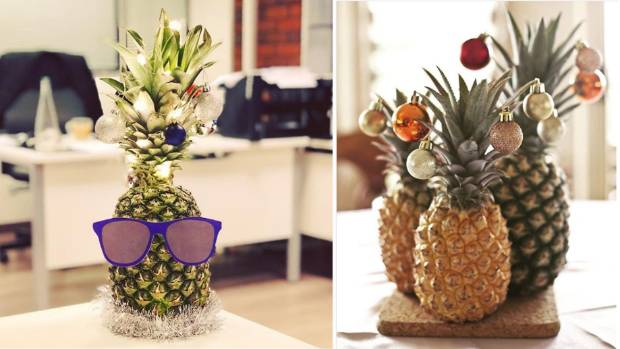 Pineapples: the trendiest alternative Christmas tree ...