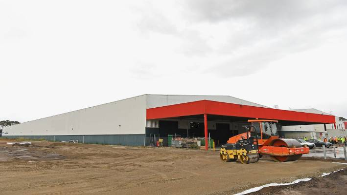 The Site For S First Australian Distribution Centre In Dandenong Australia